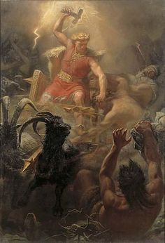 Thor - Norse God of thunder, lightning, storms,... - At The Gates