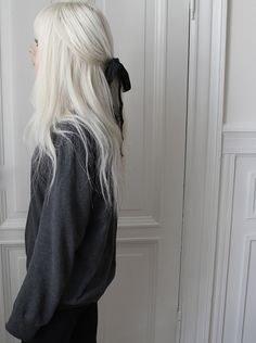 white hair | Tumblr