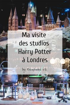 Studios Harry Potter à Londres Angleterre
