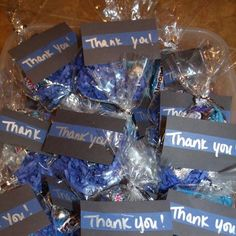 Goodie Bags for Lewisville, Texas PD