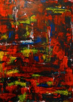 """Abstraktion 171"", von AJAR 2017, Acryl auf Leinwand, Höhe: 80 cm, Breite: 60 cm, Preis: CHF 400.00"