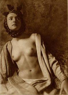 Frank Eugene. Alemanio-Saxon nude 1920