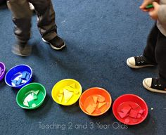 Introducing New Concepts During Circle Time - Teaching 2 and 3 year olds