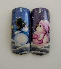 CHRISTMAS nail art by Pisut Masanong #nail #nails #nailart