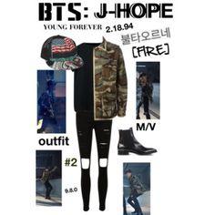 "BTS: J-HOPE ""Fire"" M/V Outfit #2"