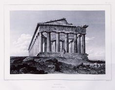 Greece Drawing, Olympia Greece, Southern Italy, Ancient Greece, Monuments, Athens, Street Photography, Temple, Asia
