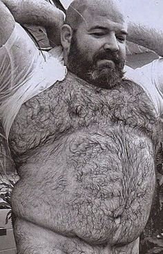 Just imagine having a real flesh silicone mask made of his face together with the 'burly bear' full body suit. Scruffy Men, Hairy Men, Oh The Humanity, Chubby Men, Daddy Bear, Bear Men, Hairy Chest, Male Physique, Man Photo