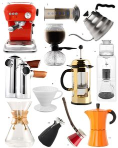 I am a serious coffee addict. So you can imagine how happy it makes me that nowadays people are taking their coffee as seriously as a fine glass of wine. Here are a few ways you can take your love of that roasted brew to the next level of obsession. On my wish list, a gold french press!