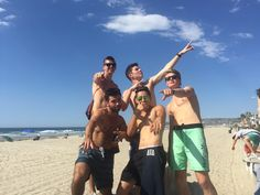 Some of the brothers enjoying fall break in San Diego, CA