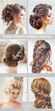 Wedding Hairstyles ❤ Whether you are looking for a long hairstyle, half up half down or bun style, we are sure to have something for you. See more: http://bit.ly/1FXeV6q