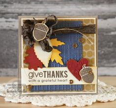Reverse Confetti | Forever Fall, Whole Lotta Dots [Gratitude, Thank You Card]