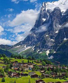 Grindelwald, Switzerland  #umaviagem