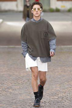 Gosha Rubchinskiy Spring 2017 Collection Fashion Show - Pitti Uomo guest designer - Milan Men Fashionweek - Bxy Frey