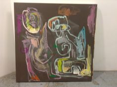 Suitcase, Paintings, Paint, Painting Art, Painting, Painted Canvas, Briefcase, Drawings, Grimm