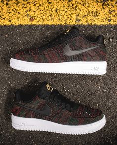 Nike Air Force 1 Ultra Flyknit Low In Gucci Colors