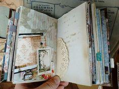 Jane's winter garden junk journal