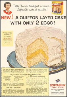 SOFTASILK CAKE FLOUR - LADIES' HOME JOURNAL 03/01/1954 - p. 78