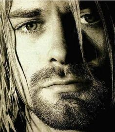 "2/20/67-4/5/1994. 18 years today Kurt's been dead.  A huge Beatles fan, he wrote ""About a girl"" after listening to The Beatles one afternoon"