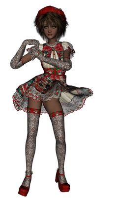 Куклы (клипарт). Обсуждение на LiveInternet - Российский Сервис Онлайн-Дневников 3d Fantasy, Stockings, Punk, Anime, Art, Style, Fashion, Socks, Craft Art