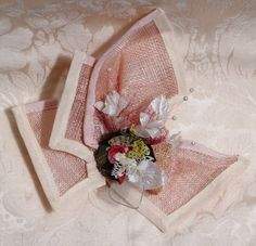A Studio-Textiles' Bespoke Fascinator creation for that special occasion.