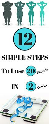 How to Lose 20 Pounds in 2 Weeks: 12 Simple Ways
