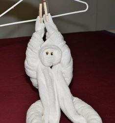 How to make a Towel Monkey