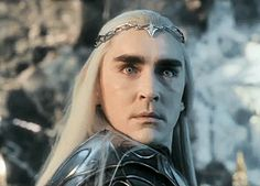 Holy Mother of Middle-Earth, this man is so fine! #LeePace as #Thranduil #BOTFA --- I am sorry to say, I laughed a little at this face...