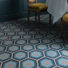 Ca'Pietra Cement Encaustic Patisserie Pattern Tile - Flooring from Period Property Store UK