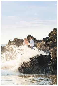 We are so grateful we got to be Emma and JJ's Maui Wedding Coordinator! With love and magical light in the air, these two had a beautiful beach ceremony. Hawaii Elopement, Hawaii Wedding, Maui Weddings, Destination Weddings, Beach Wedding Locations, Beach Ceremony, Wedding Officiant, Wedding Coordinator, Wedding Photography