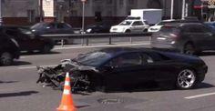 Lamborghini за 12 млн рублей разбился на ТТК в Москве. Сегодня, 27 июля 2014 года, на Третьем транспортном кольце произошла серьезная авария. Водитель автомобиля Lamborghini стоимостью 12 миллионов рублей не смог справиться с управлением и попал в ДТП. Авария произошла вблизи Бе