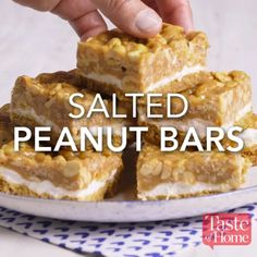 I am often asked if it is necessary to have snacks or if it is better to wait until the next meal to better manage weight. If you ask me the question, I may answer you with another question: why… Continue Reading → Yummy Treats, Sweet Treats, Yummy Food, Cookie Recipes, Dessert Recipes, Bar Recipes, Punch Recipes, Peanut Recipes, Cheap Recipes