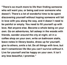 Life will always be beautiful