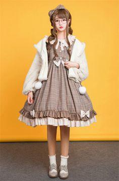 Miss Owl~ Sweet Lolita OP Dress -Pre-order Closed