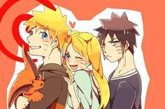 Naruto Uzumaki and Naruko Uzumaki are twins that were born to Minato Namikaze and his wife Kushina Uzumaki. So Minato sealed t. Naruko Uzumaki, Sasunaru, Sarada Uchiha, Boruto, Narusasu, Naruhina, Naruto And Sasuke, Naruto Anime, Naruto Girls