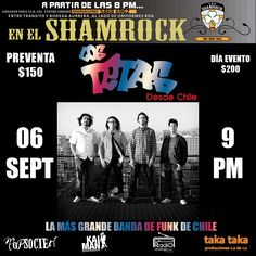 Los Tetas - 6 de septiembre 2013 - Shamrock Izcalli - Estado de México - México