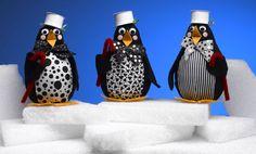 One dozen penguin crafts celebrate Penguin Awareness Day Penguin Ornaments, Penguin Craft, Lightbulb Ornaments, Penguin Party, Lightbulbs, How To Make Ornaments, Crafts To Make, Crafts For Kids, Christmas Crafts