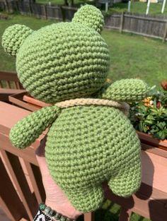 Diy Crochet Projects, Crochet Crafts, Knitting Projects, Crochet Toys, Sewing Projects, Kawaii Crochet, Cute Crochet, Crochet Baby, Knit Crochet