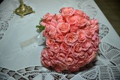 Buquê de flores com rosas