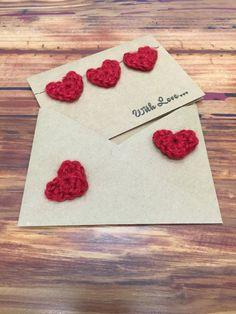 crochet Valentine's Cards, Valentine's Cards crochet pattern, Valentine's Cards free crochet pattern,  crochet Valentine's Cards heart, Valentine's Cards heart crochet pattern, Valentine's Cards heart free crochet pattern,