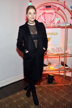 Ashley attending the Superga XO Jennifer Meyer Collection Launch Celebration at Chateau Marmont on February 9, 2016 in Los Angeles, California.