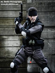 Solid Snake - Metal Gear Solid cosplay by ~mustang-revolver on deviantART