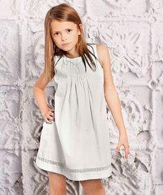Take a look at this Gray Perla Dress - Infant, Toddler & Girls by Jelly the Pug on #zulily today!