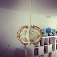 Ma suspension scandinave dénichée en brocante (vintage scandinavian suspension / vintage home) - @gabulleinwonderland- #webstagram