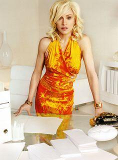 Madonna : 2005 Mario Testino for Versace