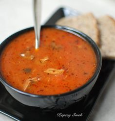 zupa gulaszowa Soup Recipes, Diet Recipes, Vegan Recipes, Cooking Recipes, Good Food, Yummy Food, Tasty, Polish Recipes, Soups And Stews