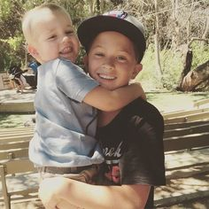 Deacon Phillippe Gets the Best Welcome Home From Summer Camp  Reese Witherspoon's Sons Are Too Cute For Words in Cuddly New Photo