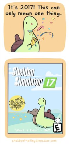 Sheldon the Tiny Dinosaur who Thinks he's a Turtle — Am I greenlit now? Cute Comics, Funny Comics, Turtle Dinosaur, Bazar Bizarre, Funny Cute, Hilarious, Super Funny, Sheldon The Tiny Dinosaur, Dinosaur Pictures