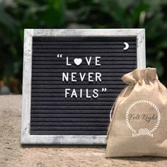 Beautiful Rustic Felt Letter Board - with 340 Letters, Symbols and Emojis, Wall Hook, Canvas Bag, Stand