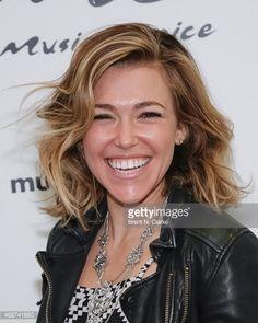 Singer/songwriter Rachel Platten stops by Music Choice on April 6, 2015 in New York City.