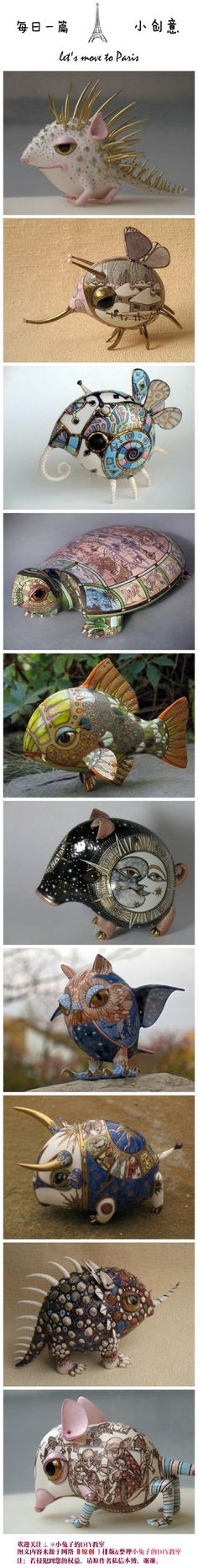 ceramic art from Russia